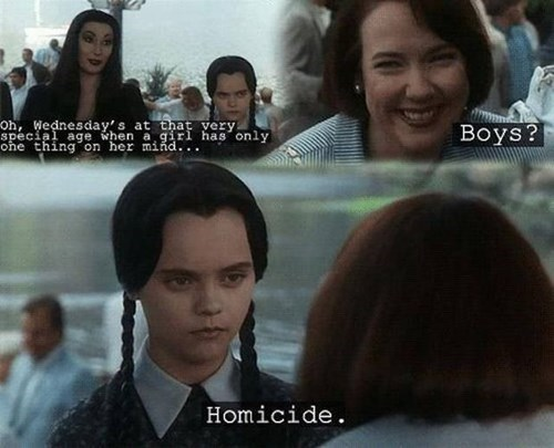 addams family,teenagers,parenting