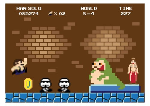 Jabba the Hut star wars mario bros - 8007418112