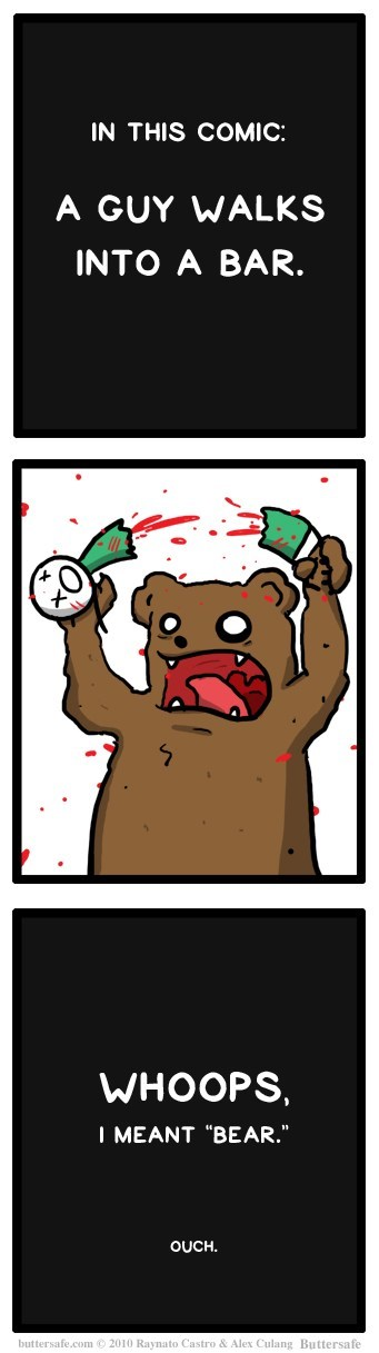 bears puns web comics