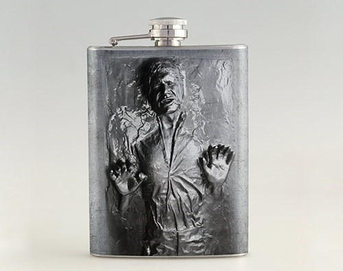 Jabba the Hut carbonite flask Han Solo funny after 12 g rated