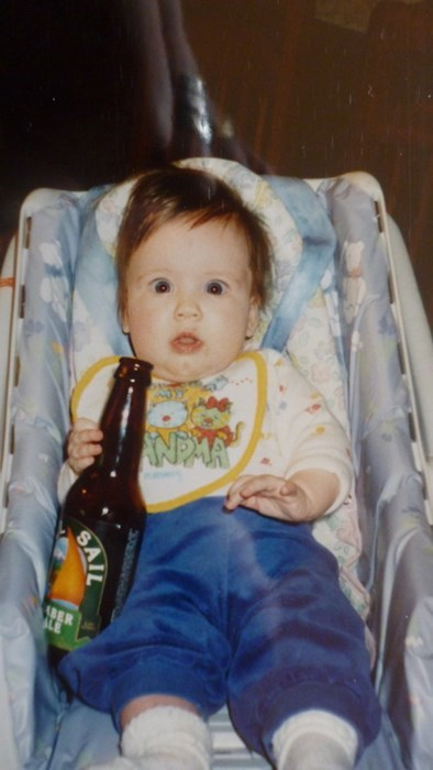 beer,baby,funny,surprise