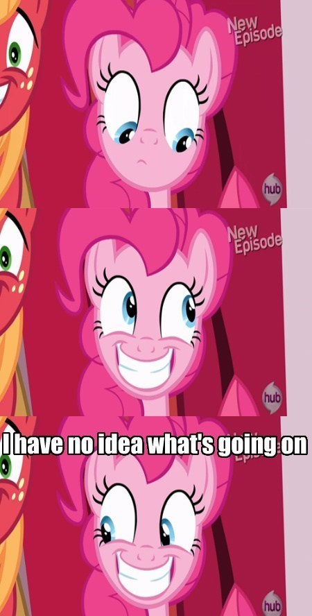 pinkie pie,short attention span,wat
