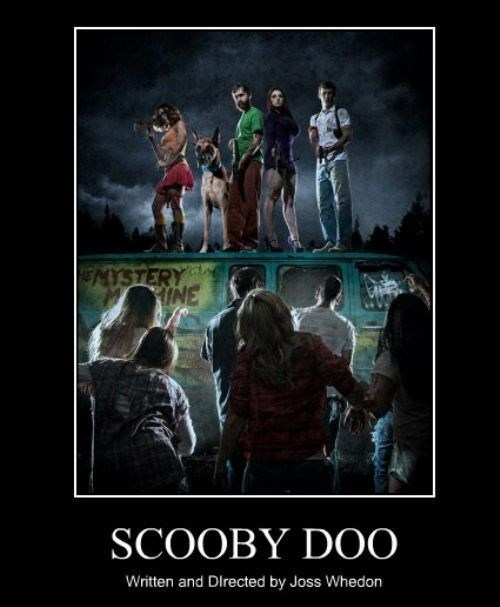 awesome funny scooby doo Joss Whedon wtf - 8007718656