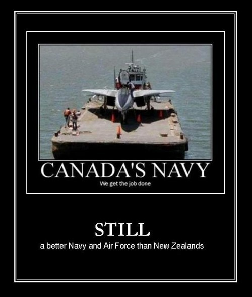 Canada navy new zealand funny - 8007859456