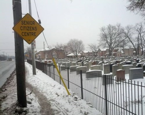cemetery,irony,sign