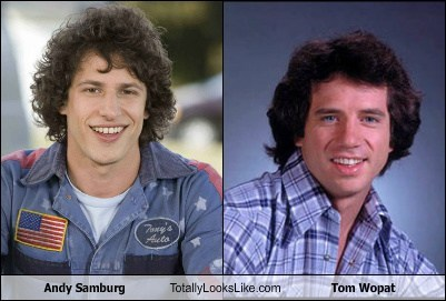 tom wopat,andy samburg,totally looks like