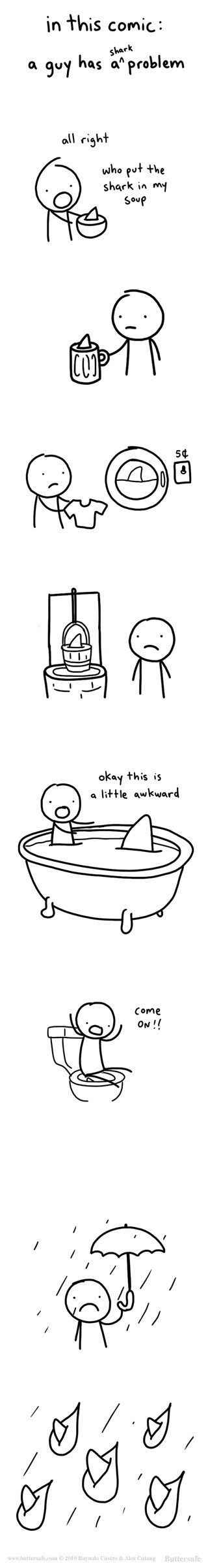 problems,sharks,web comics