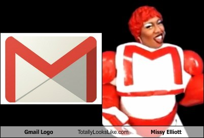 missy elliott,logos,gmail,totally looks like