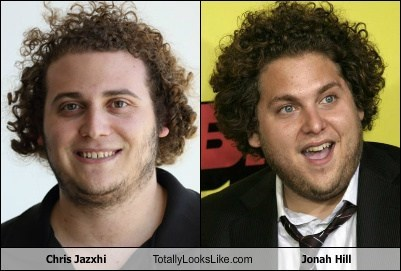 jonah hill totally looks like chris jazxhi - 8008316416