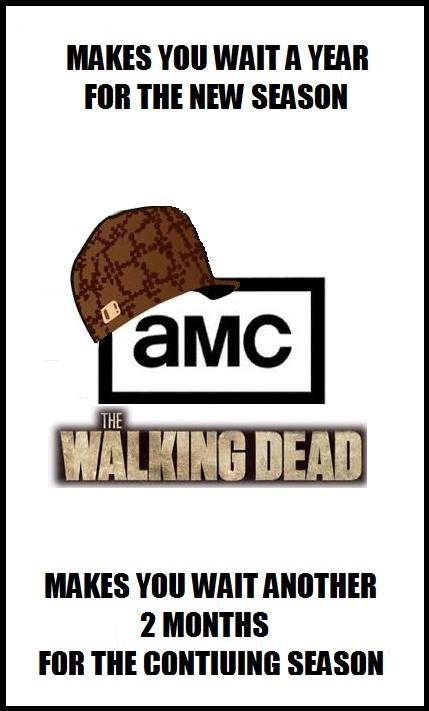 scumbag amc The Walking Dead - 8008628480