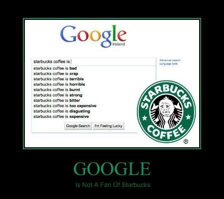 search wtf Starbucks funny google - 8008749056