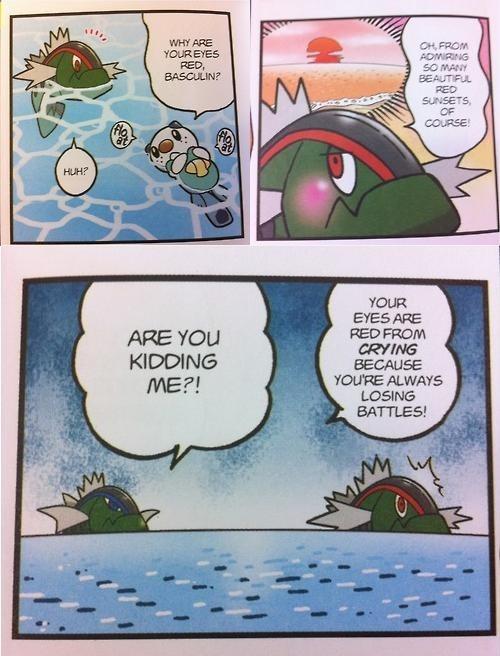 basculin Pokémon comics
