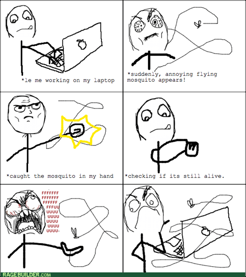 rage mosquitoes