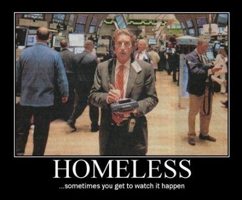 life,shambles,homeless,wallstreet,funny