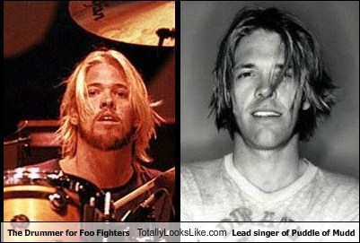 puddle of mudd,totally looks like,drummer,foo fighters