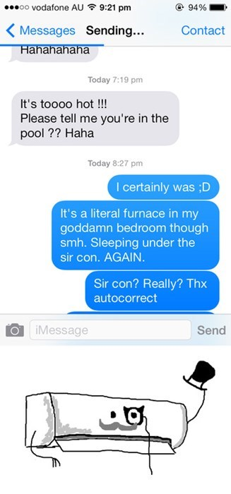 autocorrect text sir - 8009154304