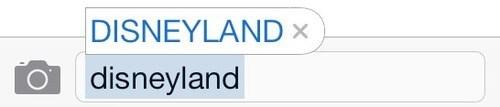 autocorrect text all caps disneyland - 8009176832