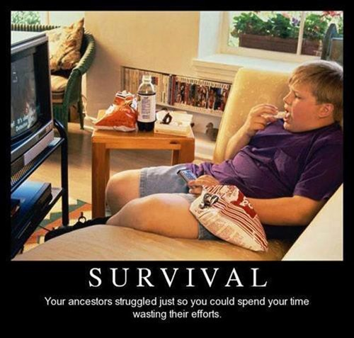hilarious,ancestors,survival,pinnacle,funny