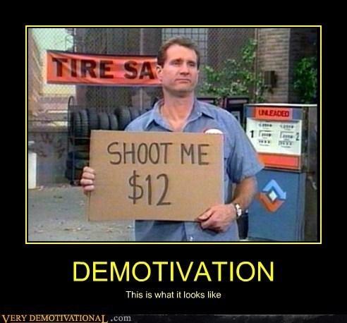 demotivation al bundy funny - 8009374720