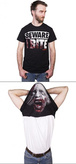 walker the walkingdead zombie shirt - 8009384192