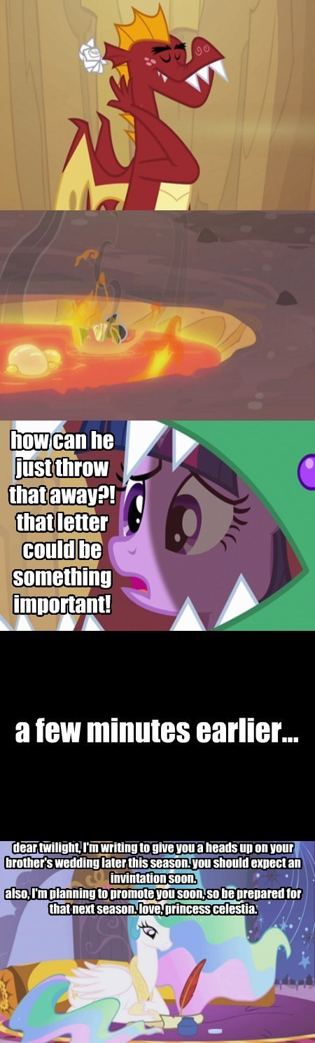 garble spoilers twilight sparkle letter - 8009387008