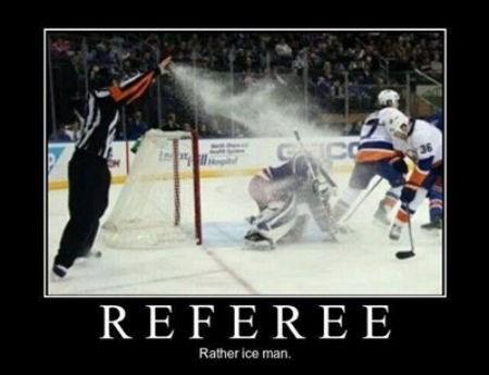 referee ice man hockey x men funny - 8009421312
