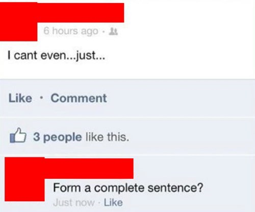 complete sentences grammar - 8009432832
