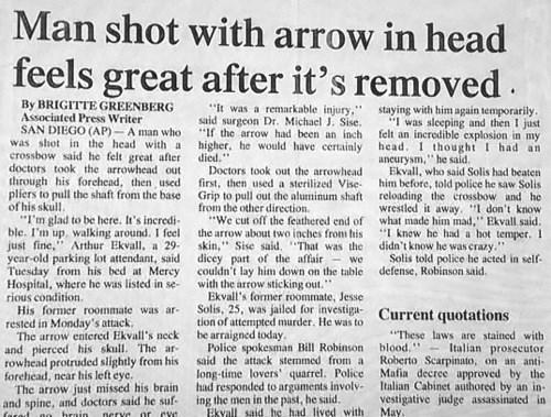 arrow news Probably bad News - 8009612032