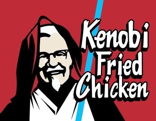 obi-wan kenobi,colonel sanders,kfc