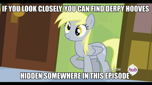 background pony derpy hooves derpy sighting - 8010388736