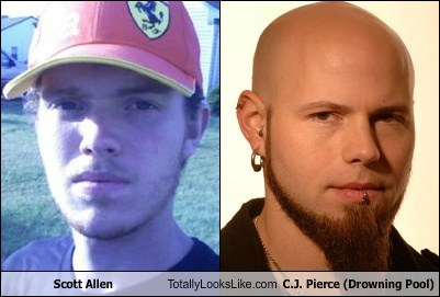 scott allen drowning pool c-j-pierce totally looks like