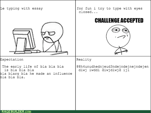 Challenge Accepted essays computer guy - 8010521600