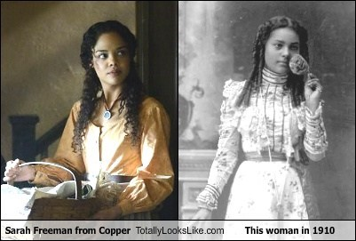 woman sarah freeman 1910s totally looks like copper - 8010652160