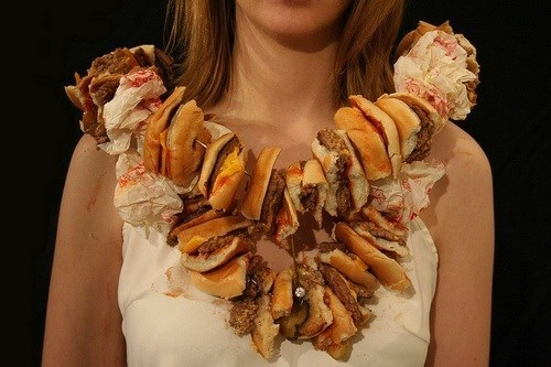 necklaces fashion wtf fast food - 8010832640