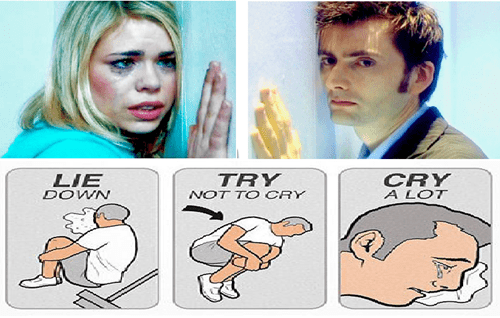try not to cry,rose tyler,10th doctor