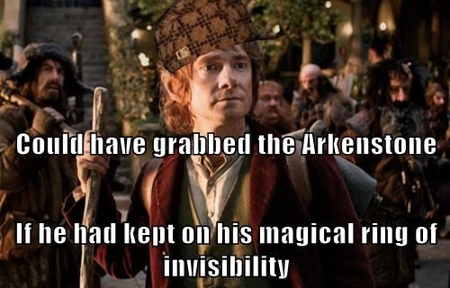 FAIL scumbag hat The Hobbit - 8011448320