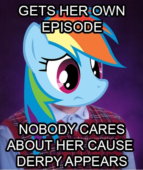 derpy hooves bad luck brian rainbow dash - 8011496192