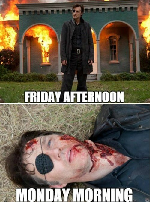 the governor working for the weekend The Walking Dead - 8011736832