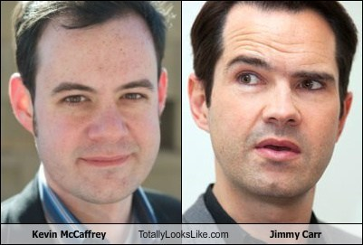 kevin mccaffrey,totally looks like,jimmy carr