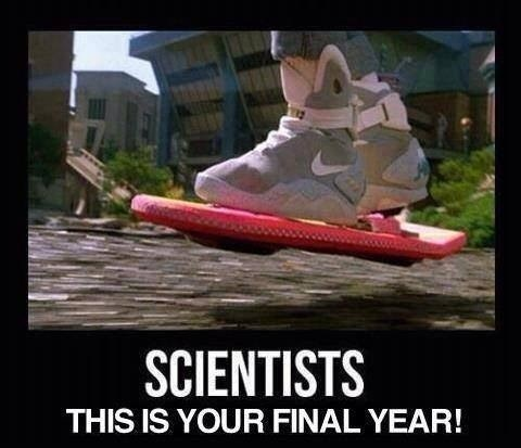 hoverboard back to the future science funny - 8012244992