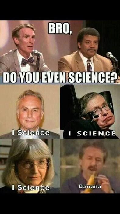 banana science idiots funny - 8012257024