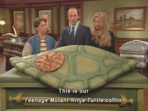 teenage mutant ninja turtles wtf TMNT coffins - 8012609280