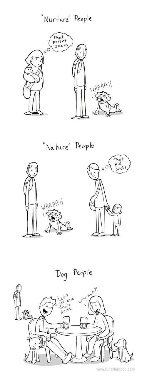 dogs kids sad but true web comics - 8012612352