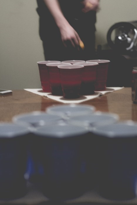solo cups beer pong funny - 8012676352