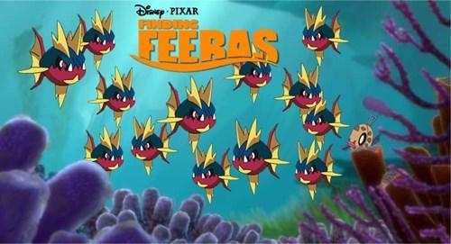 gen III Pokémon feebas finding nemo - 8012707840