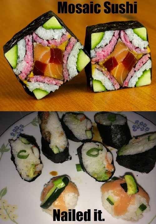 sushi,Nailed It
