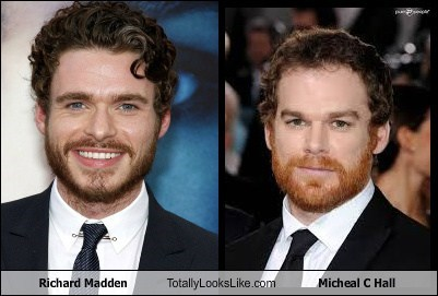 Richard Madden Totally Looks Like Micheal C Hall