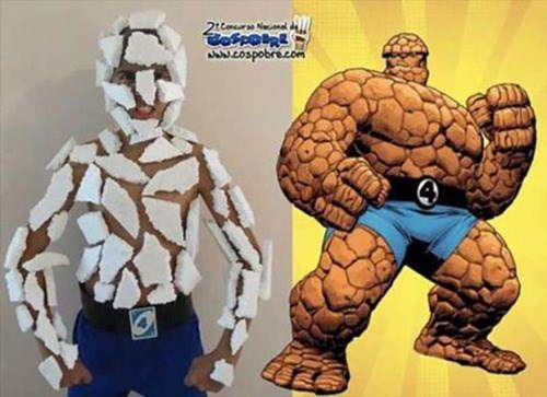cosplay ben grimm Fantastic Four The Thing - 8013383168