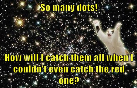 red-dot-cats,space