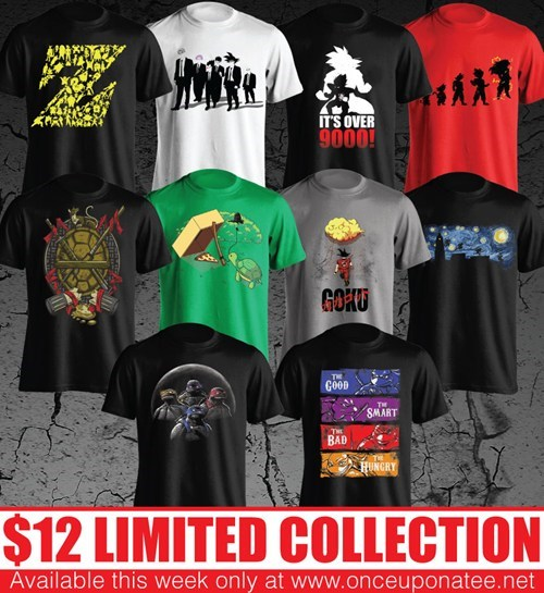 for sale t shirts cartoons once upon a tee - 8013624320